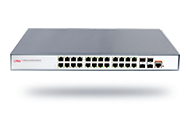 Full gigabit 28-port managed PoE switch