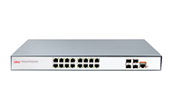 Full gigabit 20-port L2+ managed PoE switch